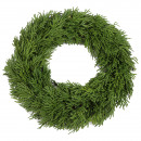 Thuja wreath, D20cm, green